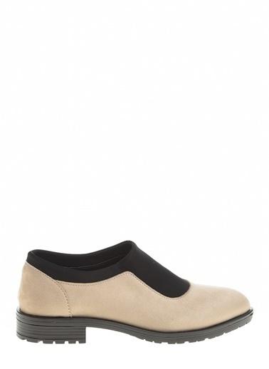 Derigo Ten Süet Kadın Casuel Ayakkabı 221913 Ten